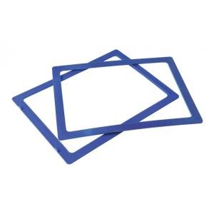 Ramka do sztaplowania skrzynek magazynowych typ 2 niebieska