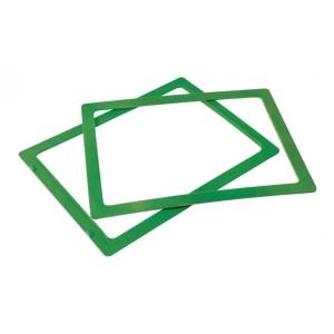 Ramka do sztaplowania skrzynek magazynowych typ 2 zielona