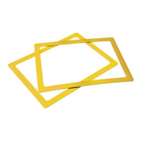 Ramka do sztaplowania skrzynek magazynowych typ 3 żółta