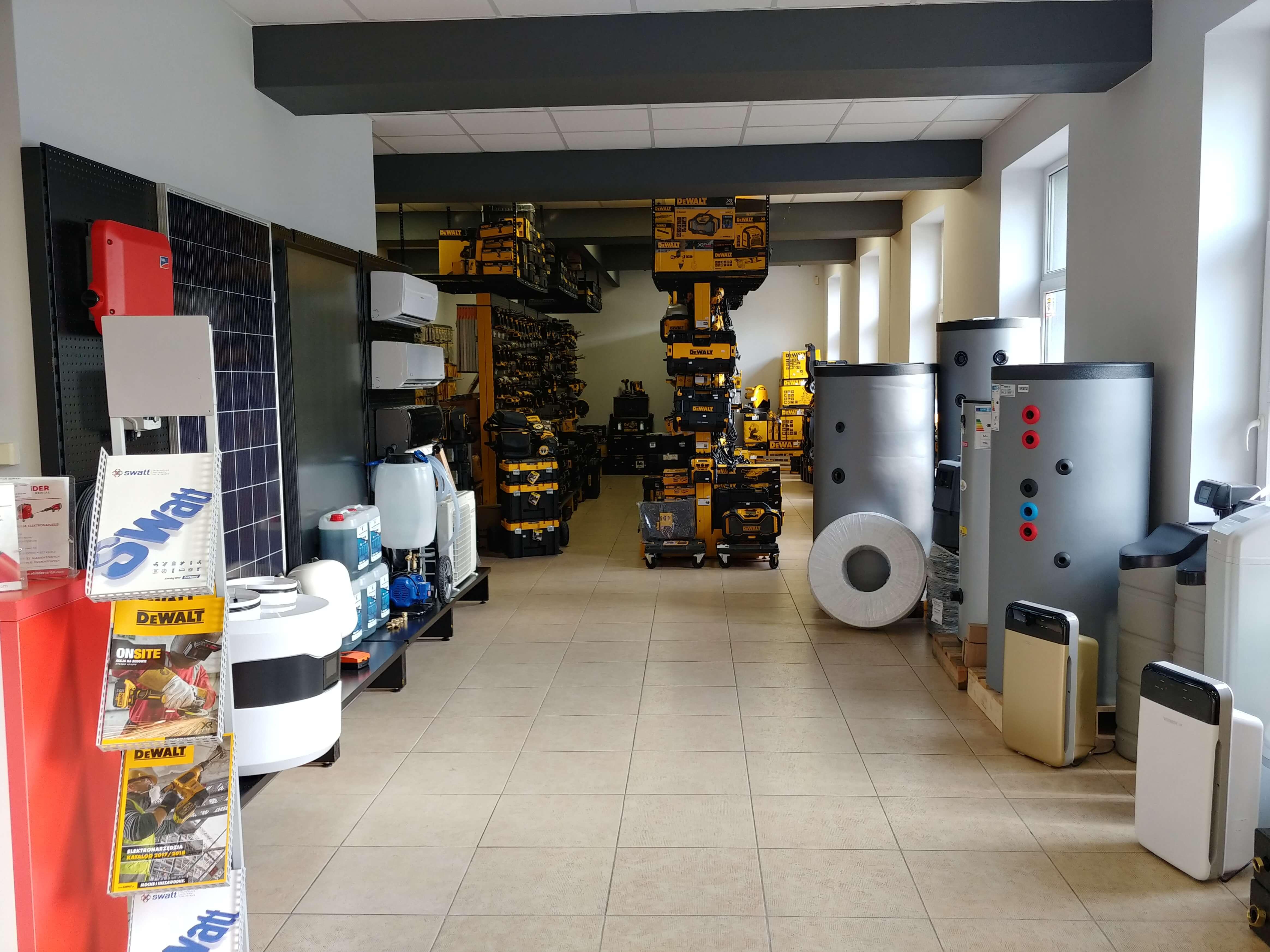 Sklep - hurtownia instalacyjna Swatt w Katowicach