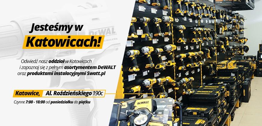 Sklep z narzędziami i elektronarzędziami DeWALT w Katowicach - Swatt